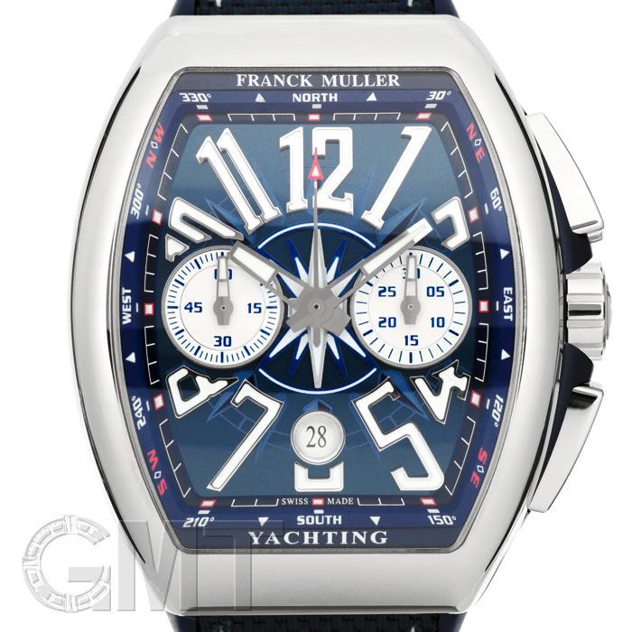 フランク・ミュラー ヴァンガード ヨッティング V45CCDT ブルー FRANCK MULLER 【新品】【メンズ】 【腕時計】 【送料無料】 【あす楽_年中無休】