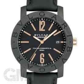 1960c0431e10 BVLGARI ブルガリ ブルガリ・ブルガリ カーボンゴールド BBP40BCGLD 【新品】 【腕時計】【メンズ
