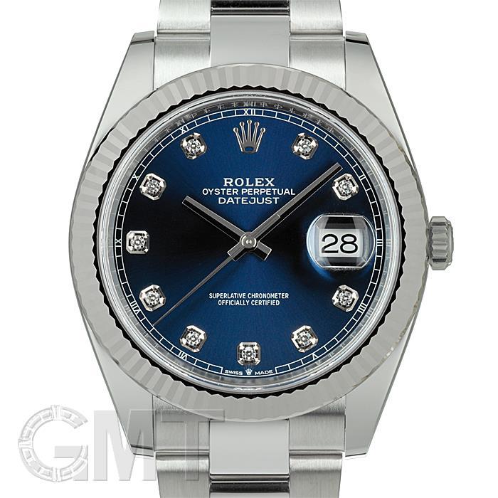 【2017年新作】ロレックス デイトジャスト 41 126334G ブルー オイスターブレスレット ROLEX 【新品】【メンズ】 【腕時計】 【送料無料】 【あす楽_年中無休】