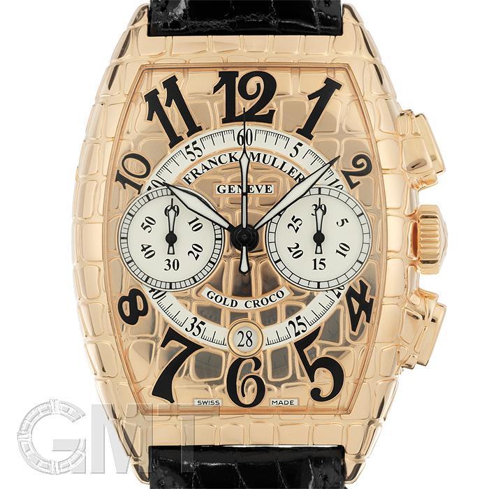 フランクミュラー アイアンゴールドクロコ クロノ8880CC GOLD CRO FRANCK MULLER 【新品】【メンズ】 【腕時計】 【送料無料】 【あす楽_年中無休】
