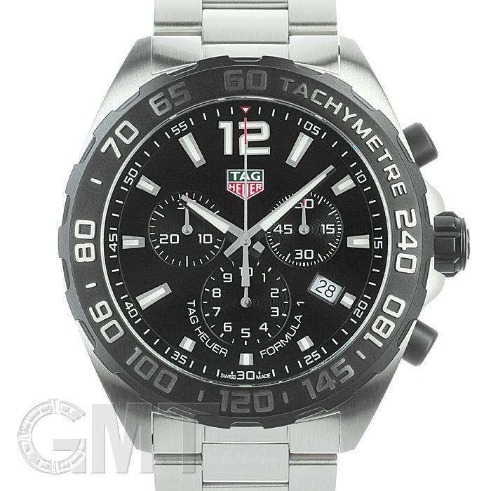 タグホイヤー フォーミュラ1 クロノグラフ CAZ1010.BA0842 F1 SS ブラック TAG HEUER 【新品】【メンズ】 【腕時計】 【送料無料】 【あす楽_年中無休】
