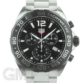 タグホイヤー フォーミュラ1 クロノグラフ CAZ1010.BA0842 F1 SS ブラック TAG HEUER 新品メンズ 腕時計 送料無料