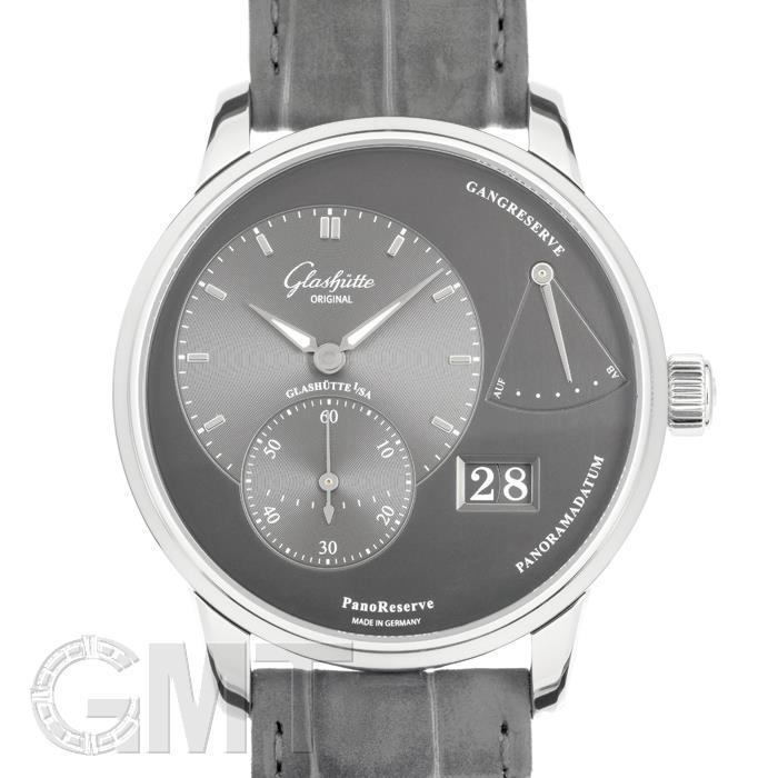 グラスヒュッテ オリジナル パノリザーブ グレー 1-65-01-23-12-04 GLASHUTTE ORIGINAL 【新品】【メンズ】 【腕時計】 【送料無料】 【あす楽_年中無休】