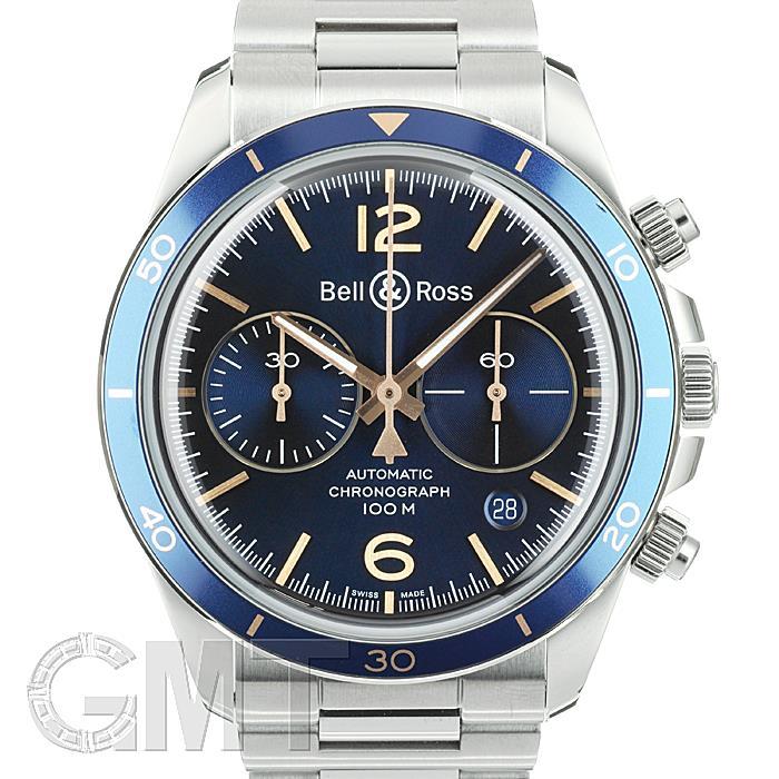 ベル&ロス ヴィンテージ BRV294-BU-G-ST/SST アエロナバル ブルー ブレス BR V2-94 BELL & ROSS 【新品】【メンズ】 【腕時計】 【送料無料】 【あす楽_年中無休】