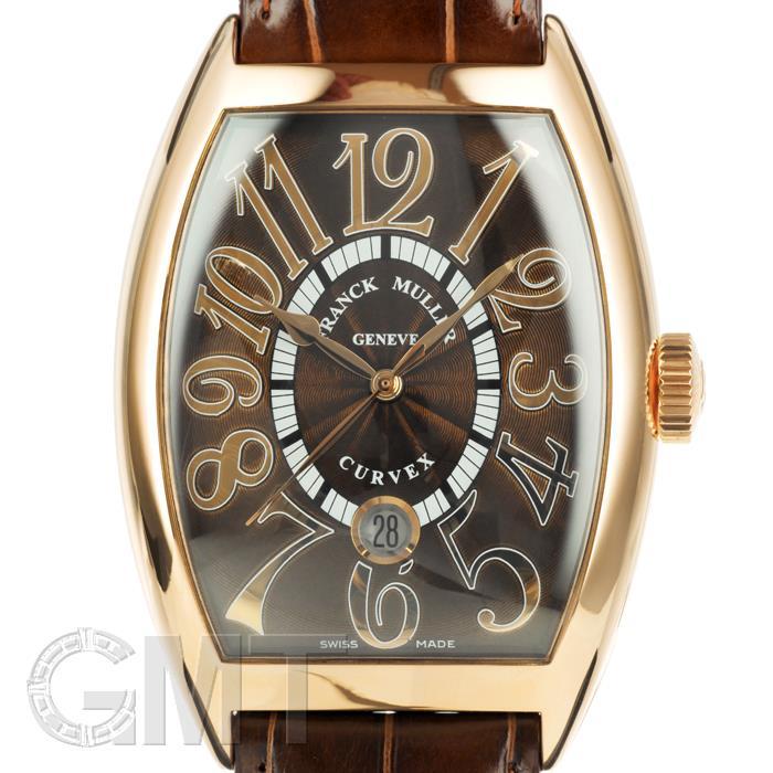 フランクミュラー トノーカーベックス デイト 8880SCDT 5N ブラウン レリーフ FRANCK MULLER 【新品】【メンズ】 【腕時計】 【送料無料】 【あす楽_年中無休】