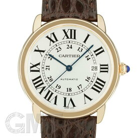 カルティエ ロンドソロ XL W6701009 CARTIER 【新品】【メンズ】 【腕時計】 【送料無料】 【あす楽_年中無休】