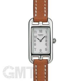エルメス ナンタケット シルバー NA2.110.220/VBA 044185WW00 ナチュラルブラウン HERMES 新品レディース 腕時計 送料無料
