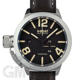 U-BOAT クラシコ 8070 タングステン 45mm ブラック SS×tungsten 革 【新品】【メンズ】 【腕時計】 【送料無料】 【あす楽_年中無休】
