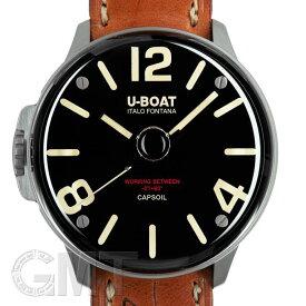 U-BOAT ユーボート カプソイル 8108 ブラックDLC 【新品】【メンズ】 【腕時計】 【送料無料】 【あす楽_年中無休】