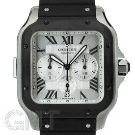 【2019年新作】カルティエ サントス ドゥ カルティエ クロノグラフ XL WSSA0017 CARTIER 新品メンズ 腕時計 送料無料