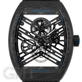 フランクミュラー ヴァンガード 7デイズ カーボン ブルー V45S6 SQT CARBON BL FRANCK MULLER 新品メンズ 腕時計 送料無料