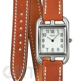 エルメス ケープコッド ドゥブルトゥール CC1.210.220/VBA2-I 040233WW00 ナチュラルブラウン HERMES 新品レディース 腕時計 送料無料