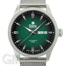 チュチマ 6105-24 フリーガー スカイ グリーン TUTIMA 新品メンズ 腕時計 送料無料