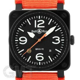 BR0392-O-CA※ カーボンオレンジ リミテッド 【世界500本限定】 BELL & ROSS 新品メンズ 腕時計 送料無料