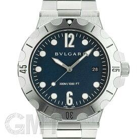 ブルガリ ディアゴノ スクーバ DP41C3SSSD ブルー BVLGARI 新品メンズ 腕時計 送料無料