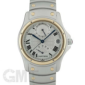 カルティエ サントスロンド W20038R3 GMT パワーリザーブ 150周年記念モデル【世界1847本限定】 CARTIER 【中古】【メンズ】 【腕時計】 【送料無料】 【あす楽_年中無休】