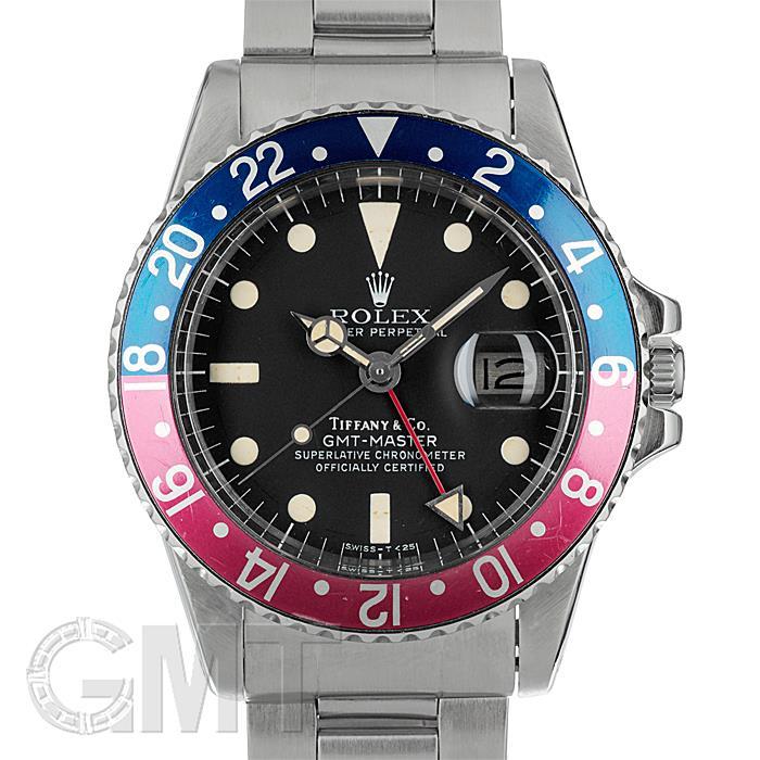 ロレックス GMTマスター 1675 ティファニーダイヤル ROLEX 【中古】【メンズ】 【腕時計】 【送料無料】 【あす楽_年中無休】