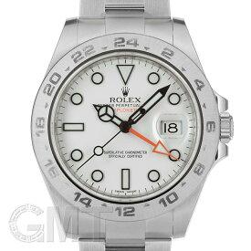 ロレックス エクスプローラーII 216570 ホワイト ベゼルエラーモデル G番 ROLEX 中古メンズ 腕時計 送料無料