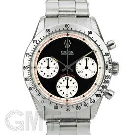 ロレックス デイトナ 6239 ポールニューマン エキゾチックダイヤル 黒/赤巻き ROLEX 中古メンズ 腕時計 送料無料