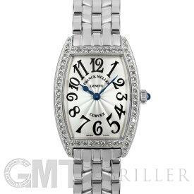フランクミュラー トノーカーベックス 1752QZ DP ベゼルダイヤ FRANCK MULLER 中古レディース 腕時計 送料無料