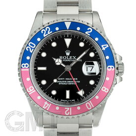 ロレックス GMTマスター 16700 ブルー/レッド T番 オールトリチウム ROLEX 中古メンズ 腕時計 送料無料