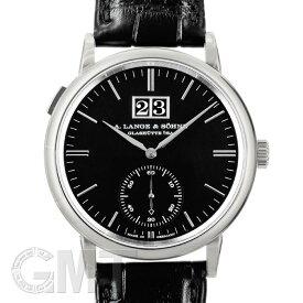 ランゲ&ゾーネ サクソニア・アウトサイズデイト 381.029 WG 未使用品メンズ 腕時計 送料無料