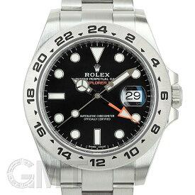 ロレックス エクスプローラーII 216570 ブラック ランダムシリアル ROLEX 中古メンズ 腕時計 送料無料