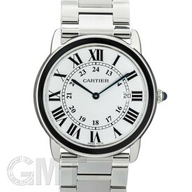 カルティエ ロンドソロ LM W6701005 CARTIER 中古メンズ 腕時計 送料無料