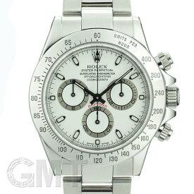 ロレックス デイトナ 116520 クリーム P番 ROLEX 中古メンズ 腕時計 送料無料