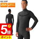 【クーポン配布中】セミドライスーツ ウェットスーツ メンズ EVOTRIC 5/3mm 保温起毛素材 ノンジップ ジップレス セミ…