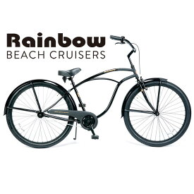RAINBOW BEACHCRUISER/レインボービーチクルーザー PCH101 29er SPADE BLACK 29 x 2.1 自転車 29インチ MENS メンズ/ Gloss Black x Matt Black