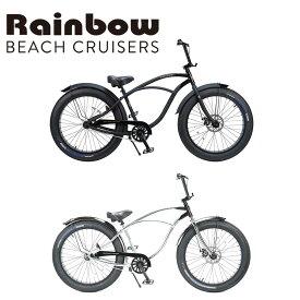 RAINBOW BEACHCRUISER/レインボービーチクルーザー GREASE 26 x 3.5 グリース 自転車 26インチ DARTH VADER クローム
