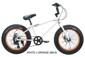 【店舗オープン記念!期間限定ポイント10倍】BRONX/ブロンクスBRONX20DD20x4.07段変速ファットバイク自転車20インチFATBIKE/MatteBlackxLime/GoldxGlossBlack/MatteBlackxBlack