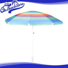 GO BEACH BRAND/ゴービーチブランド ビーチパラソル(200cm) アウトドア 日よけ 傘