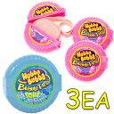 Hubba Bubba バブルガムテープ 2種類の味 56.7g x3個セット [オリジナル味 / ブルーラズベリー味]