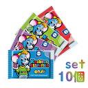 Knabber Esspapier 食べる色紙お菓子 10個入り【赤2個+緑2個+紫2個+青2個+ランダム2個】 | クナバーエスパピアー