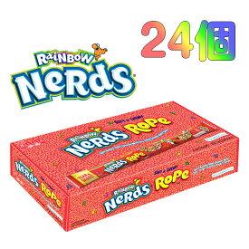 【1箱】 Nerds Rope ナーズロープ レインボー =24個= | NESTLE (ネスレ)