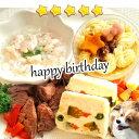 犬用 手作り食☆愛犬用 誕生日や特別な日のお祝いやパーティに♪【アニバーサリーセ...
