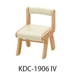 【ポイント5倍】【市場株式会社】naKIDS(ネイキッズ) KDC−1906GR/IV/PI キッズPVCチェア(肘無し)