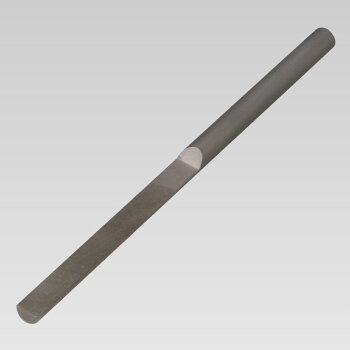 かまぼこヤスリ5mm単目細目5mm幅平ヤスリ金属ヤスリ
