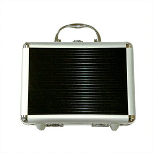 ブラック スリムアルミケース 小 No210 アイガーツール 取寄品 ネコポス非対応 収納 保管 管理