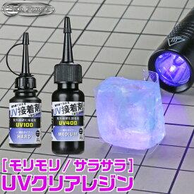 UV接着剤 20g 各種 シーフォース ネコポス非対応 UV硬化 クリアレジン