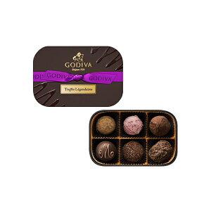 父の日 ギフト お返し チョコレート ゴディバ (GODIVA)レジェンデールトリュフ 6粒入