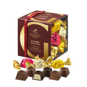 お中元 サマーギフト お返し お祝い チョコレート ゴディバ (GODIVA) G キューブ アソート MVC 9粒入