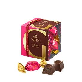 ギフト お返し お祝い チョコレート スイーツ ゴディバ(GODIVA)リボン付 G キューブ ミルク 5粒入