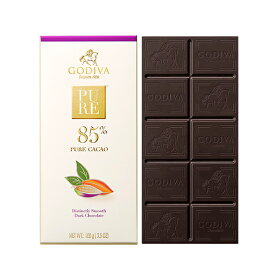 ゴディバ (GODIVA) ゴディバ ピュア 85% ダークチョコレート 100g