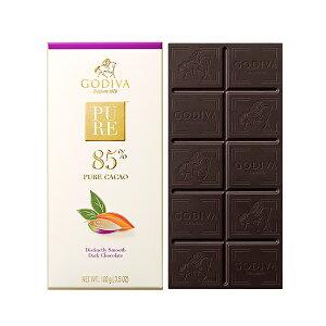 父の日 ギフト お返し チョコレート ゴディバ (GODIVA) ゴディバ ピュア 85% ダークチョコレート 100g
