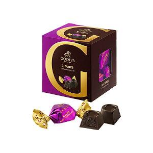 ギフト お返し お祝い チョコレート スイーツ ゴディバ(GODIVA)Gキューブ ダーク 5粒入