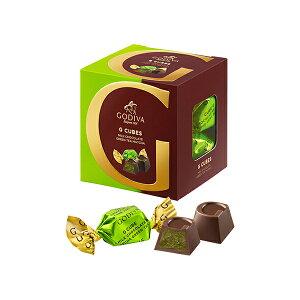 ギフト お返し お祝い チョコレート スイーツ ゴディバ(GODIVA)Gキューブ ミルク 抹茶 5粒入