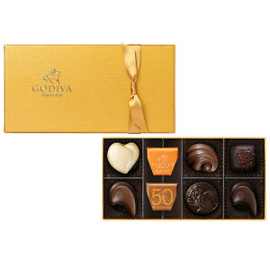 お中元 サマーギフト お返し お祝い チョコレート ゴディバ (GODIVA) ゴールド コレクション 8粒入